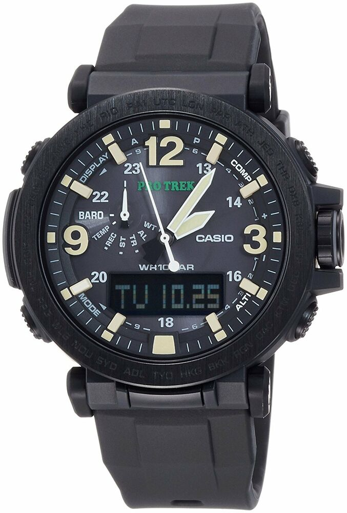 CASIO 2016 PROTREK Solar Type Watches PRG-600Y-1JF from ...