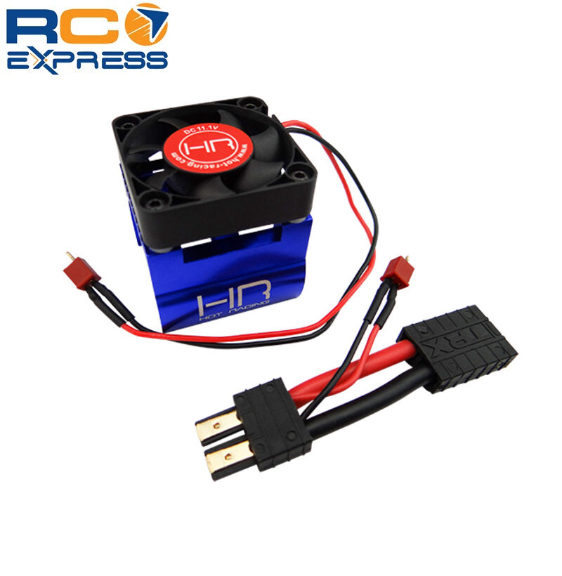 hot racing traxxas 1 10 e revo monster blower motor cooling fan kit erv404f06 ebay. Black Bedroom Furniture Sets. Home Design Ideas