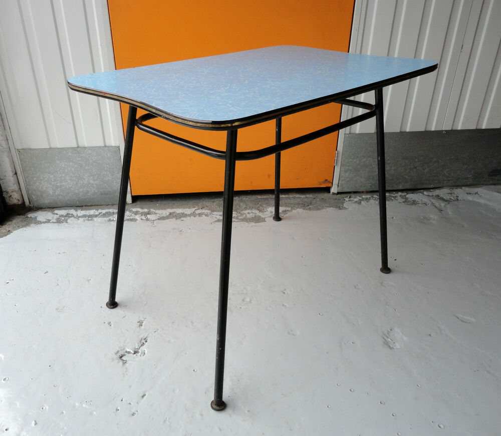 Round Formica Kitchen Table 50s Formica Table Ebay