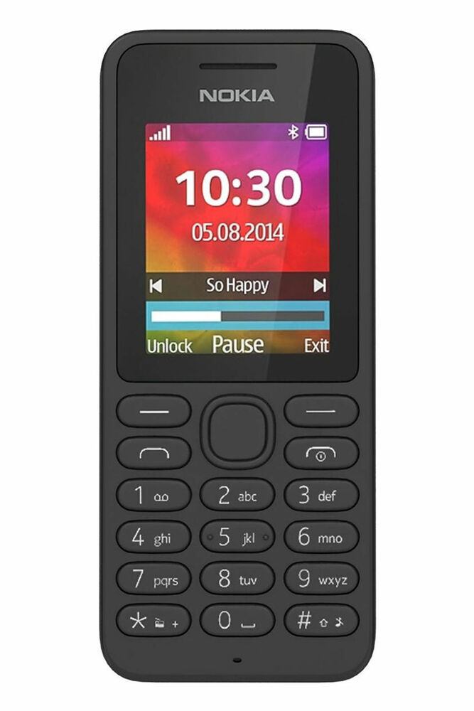 nokia 130 mobile phone black 1 8 screen with 2g and bluetooth unlocked sim free 6438158709362