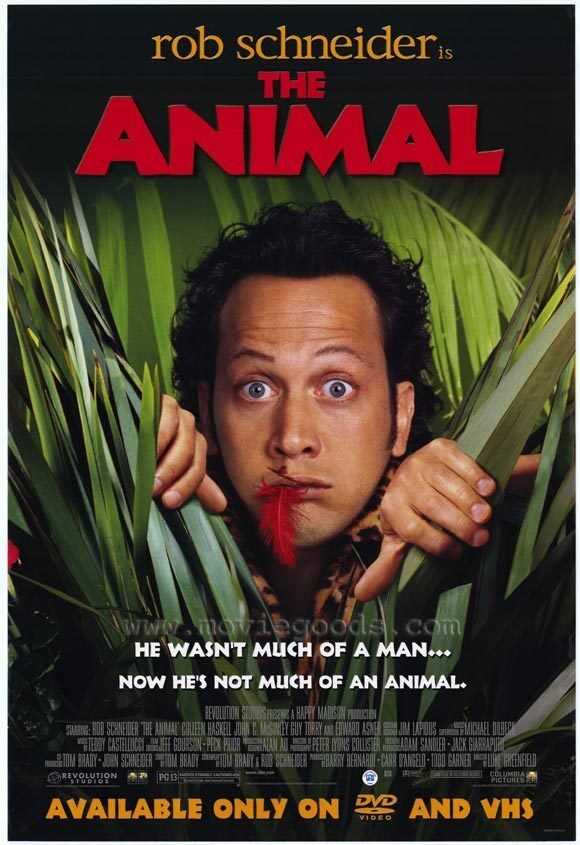 The Animal Rob Schneider Poster