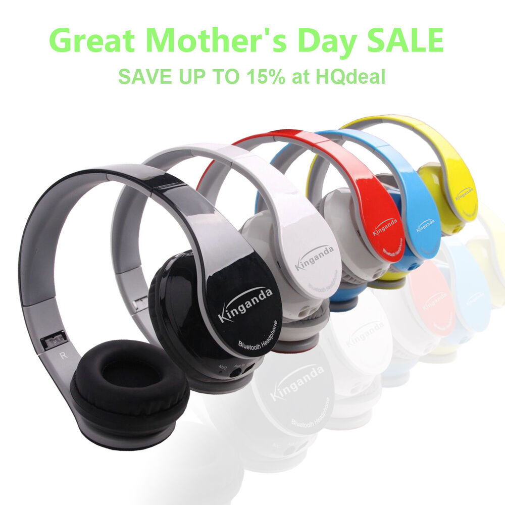sport wireless bluetooth headphone earphone headset for tv cellphone psp ipod ebay. Black Bedroom Furniture Sets. Home Design Ideas