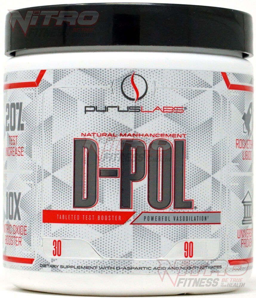 Purus Labs D-POL Test / Nitric Oxide Booster (90 Tablets