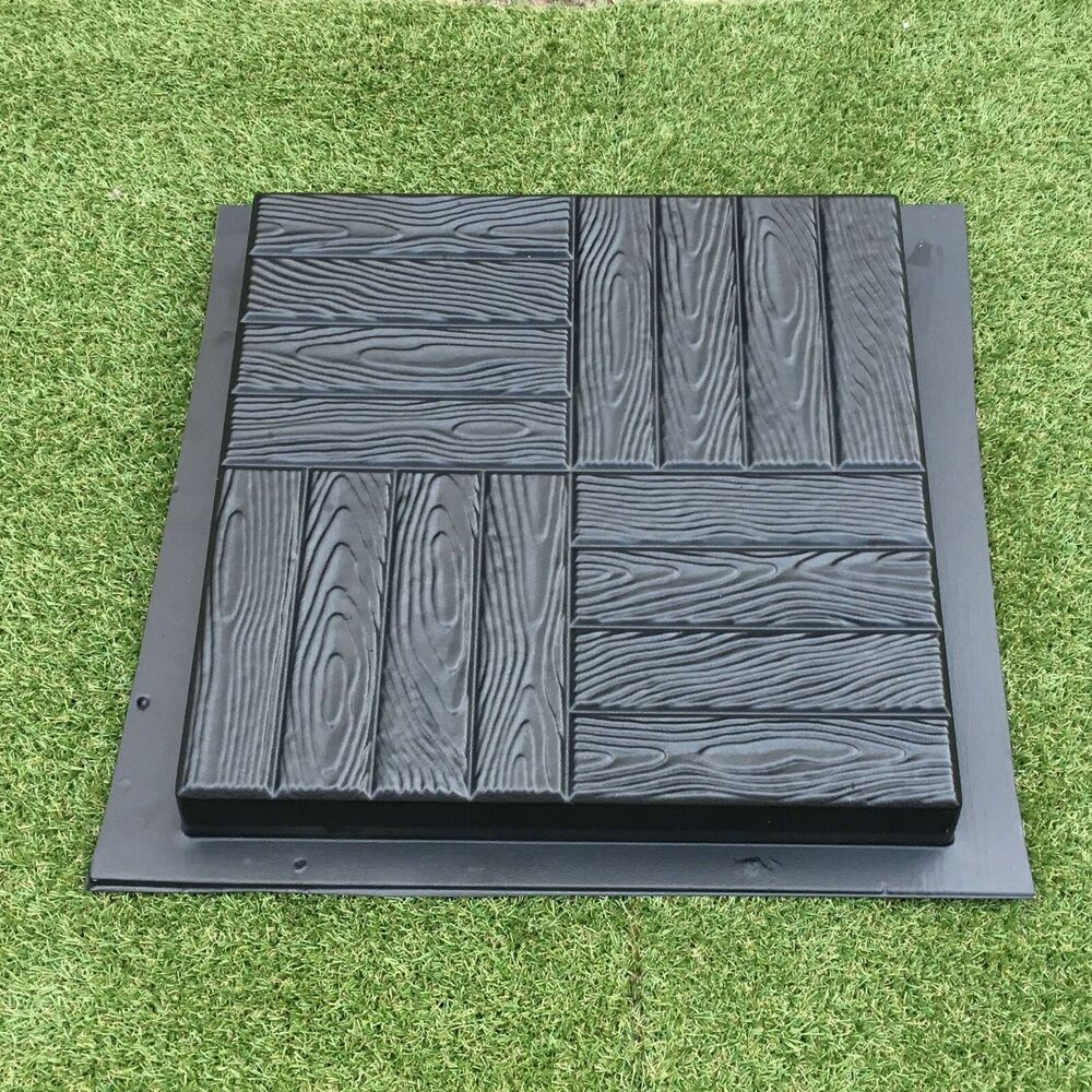 1 Pcs Plastic Molds For Concrete Garden Stepping Stone