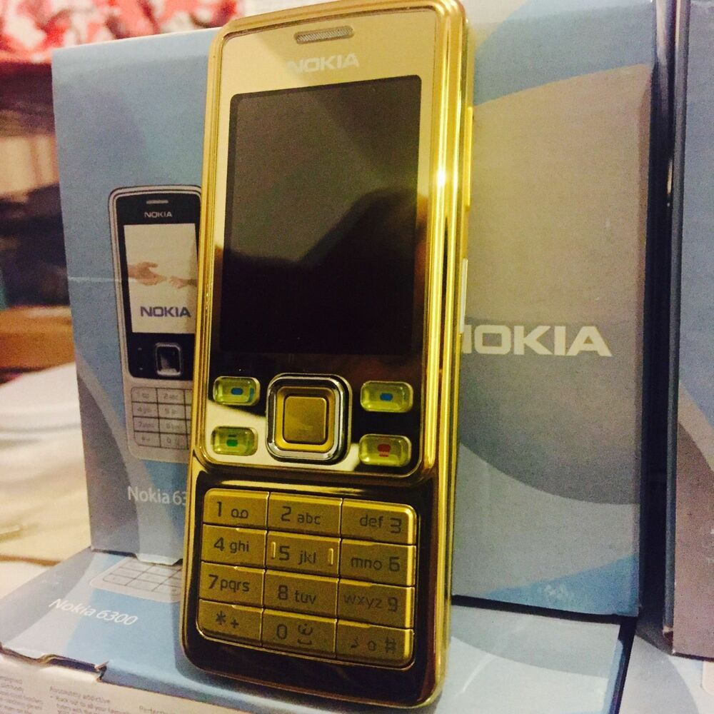 Nokia 6300 - Gold (Unlocked) Mobile Phone NEW WITH ONE YEAR WARRANTY.  eBay
