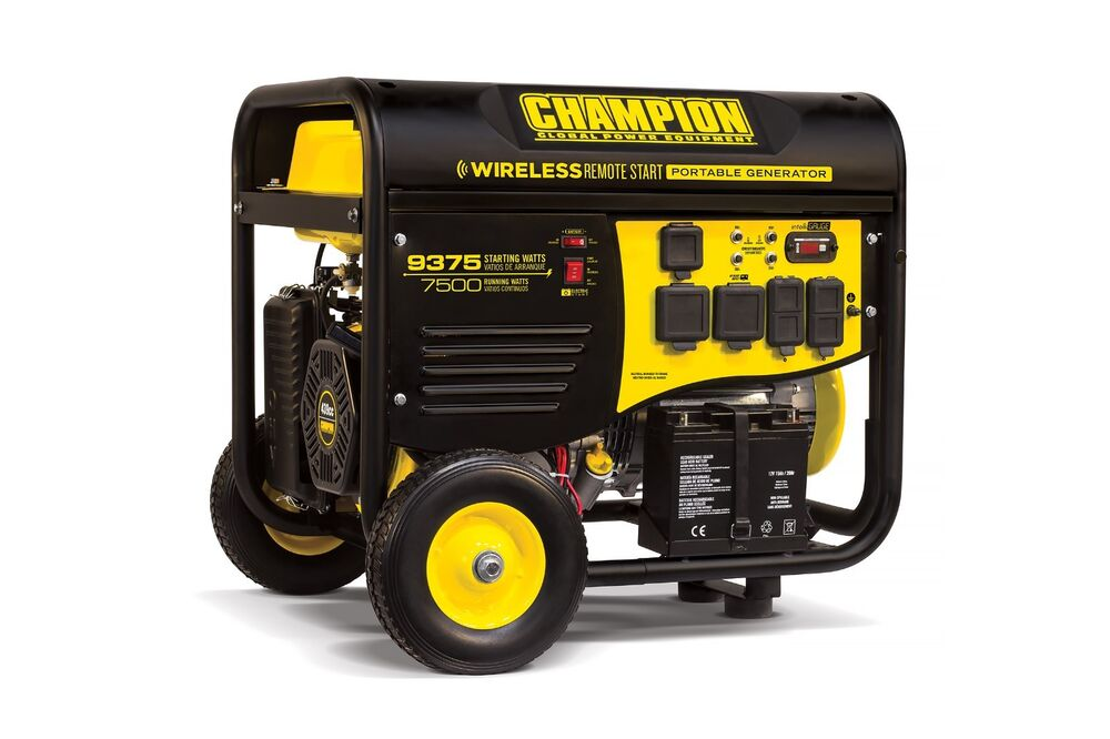 Champion Power Equipment 100161 Gas Geneartor 7500 9375