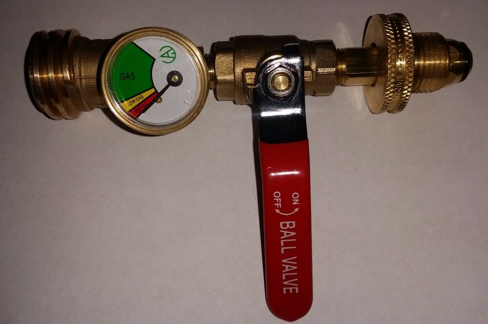 Propane Tank Adapter - Convert POL to ACME/QCC/OPD with ...