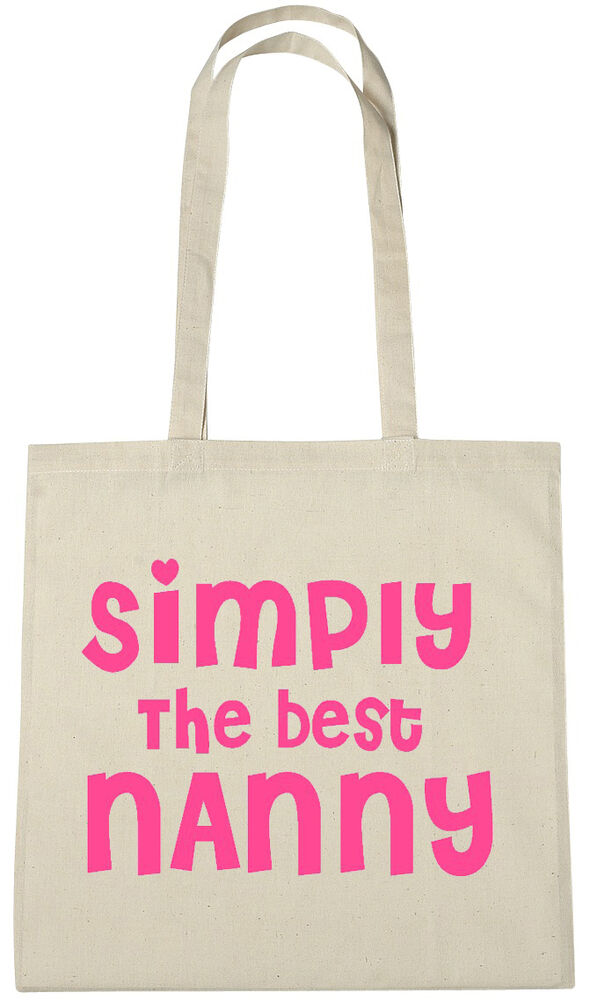 Simply Best Nanny Bag Xmas Gift Ideas Birthday Gifts Presents For Nan Grandma