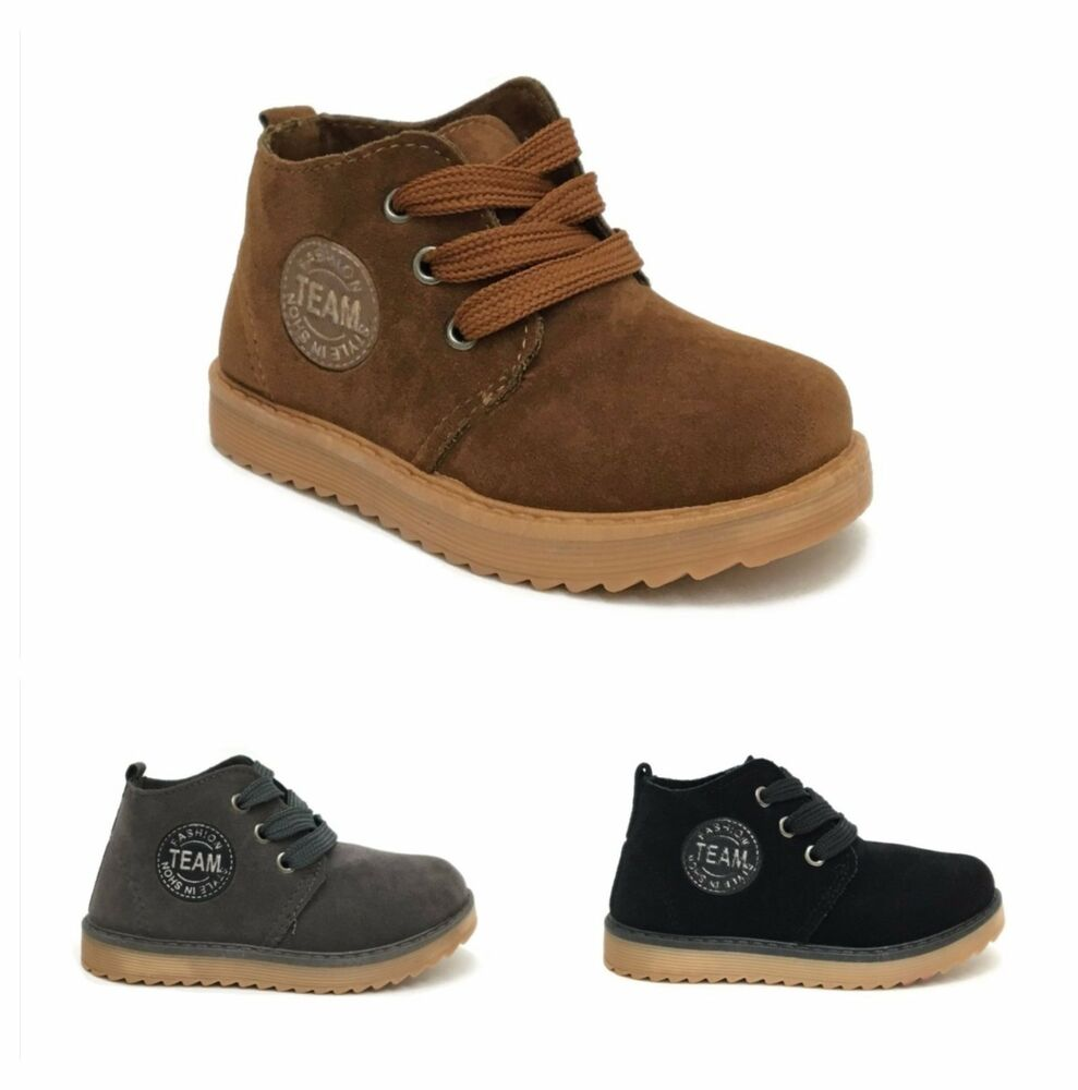 new baby boy toddler infant lace up work ankle