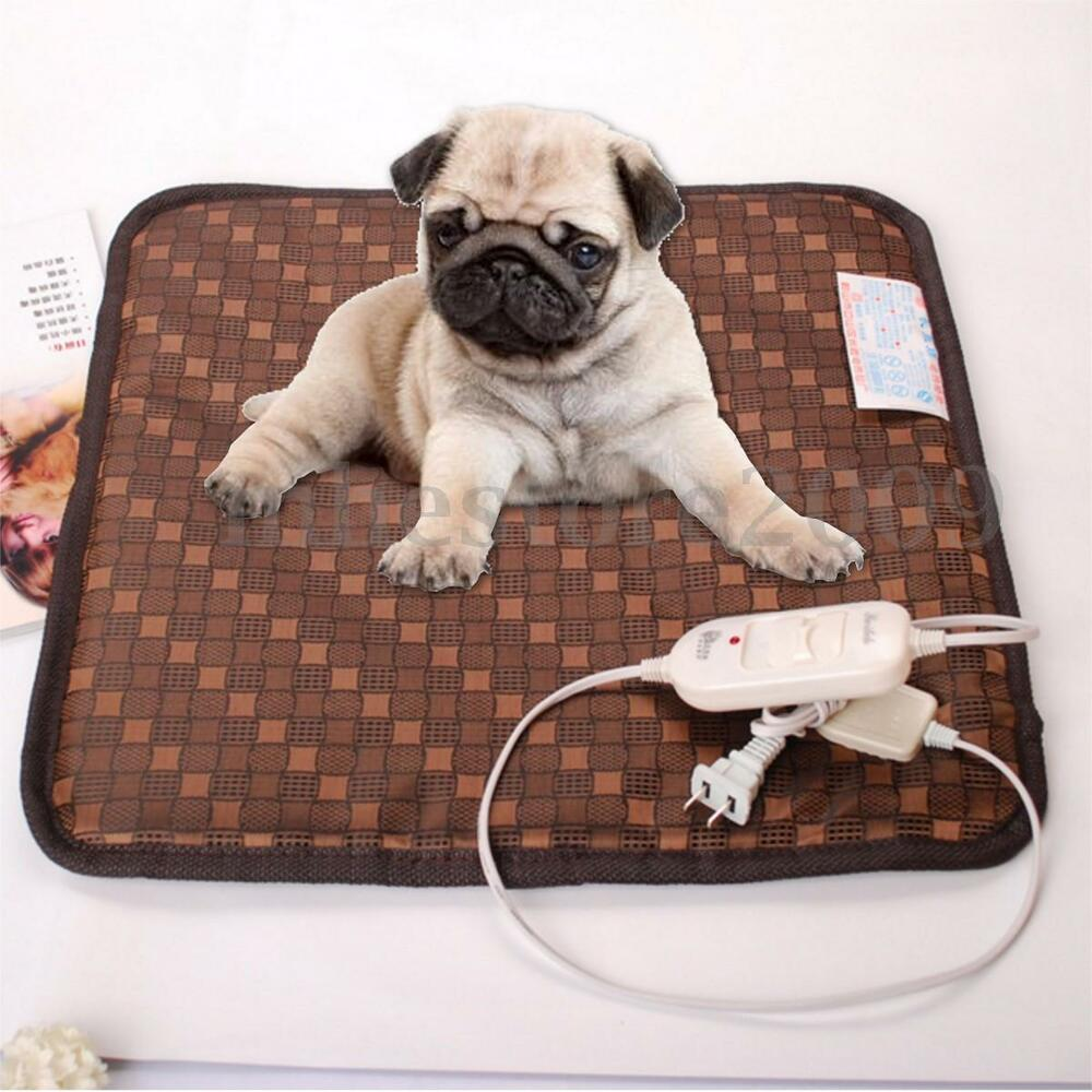 45 x 45cm pet warm electric heat heated heating heater pad for Hot dog heating pad