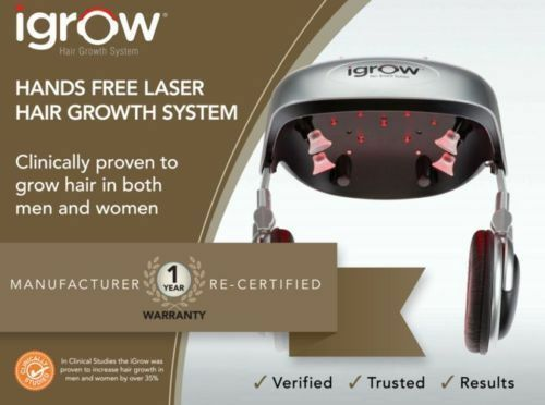igrow hands free laser led light therapy hair regrowth. Black Bedroom Furniture Sets. Home Design Ideas