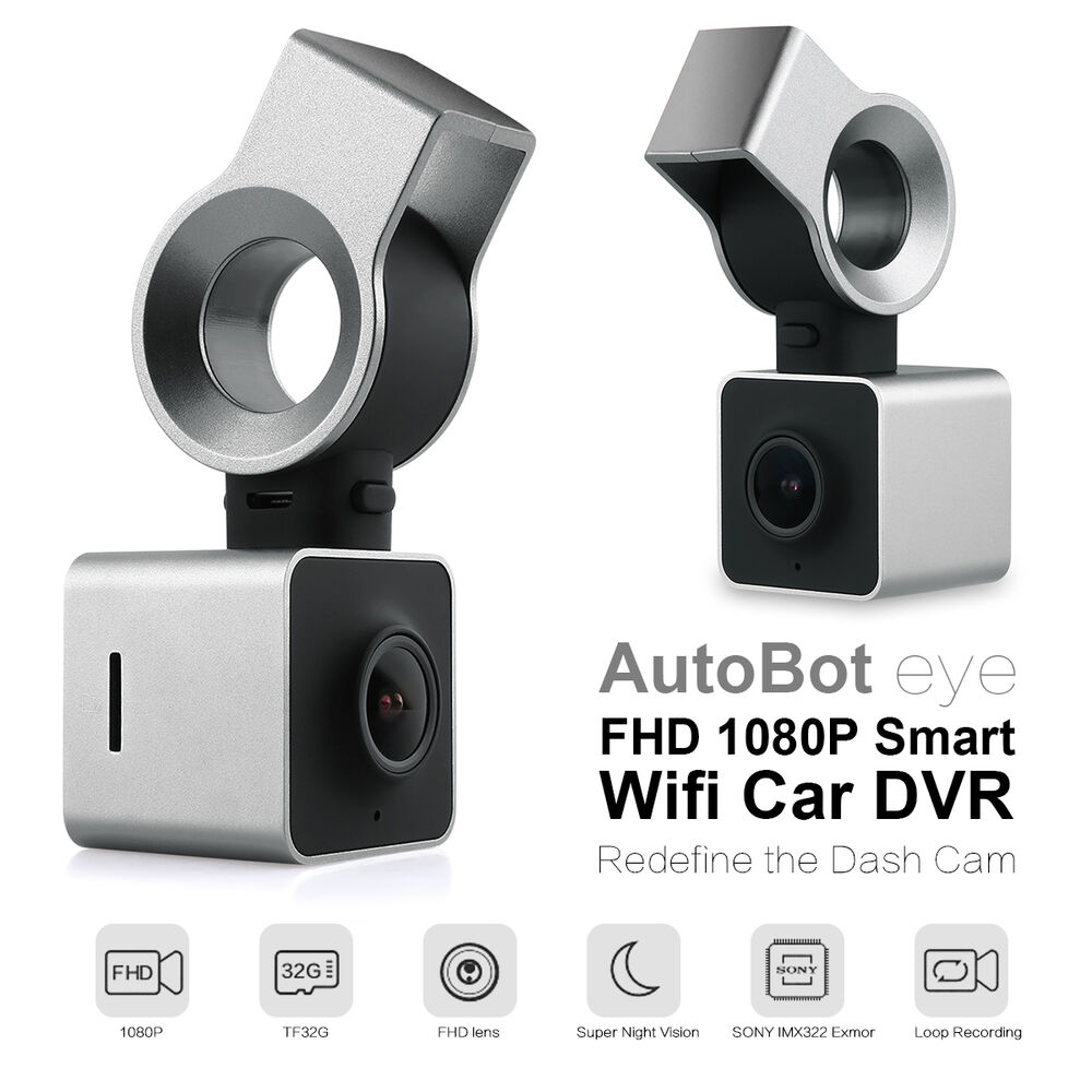 Autobot Eye Hd 1080p Smart Wifi Car Dash Camera Cam Dvr