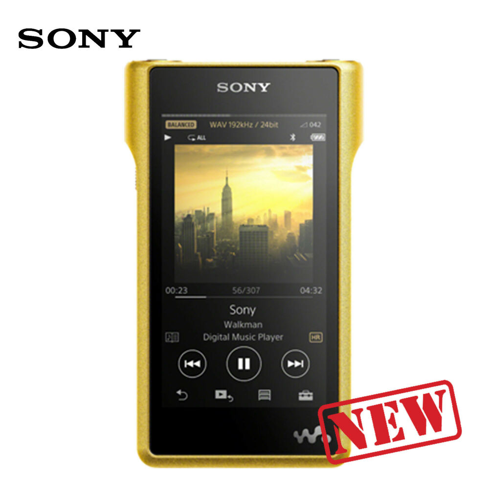 sony nw wm1z premium walkman with high resolution audio mp3 player 256gb ebay. Black Bedroom Furniture Sets. Home Design Ideas