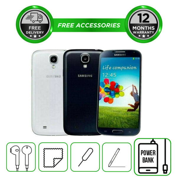 Samsung Galaxy S4 I9500 16GB  Smartphone Unlocked Sim Free All Colours