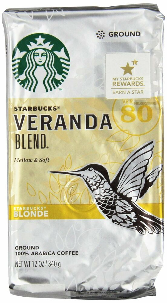 starbucks veranda blend blonde ground coffee 12oz buy 3