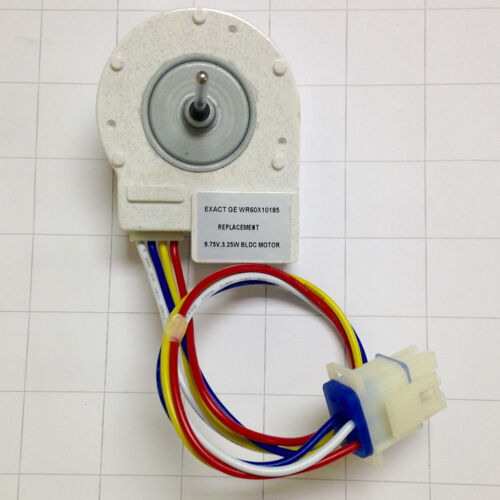 Wr60x10185 Refrigerator Evaporator Fan Motor For Ge Fits