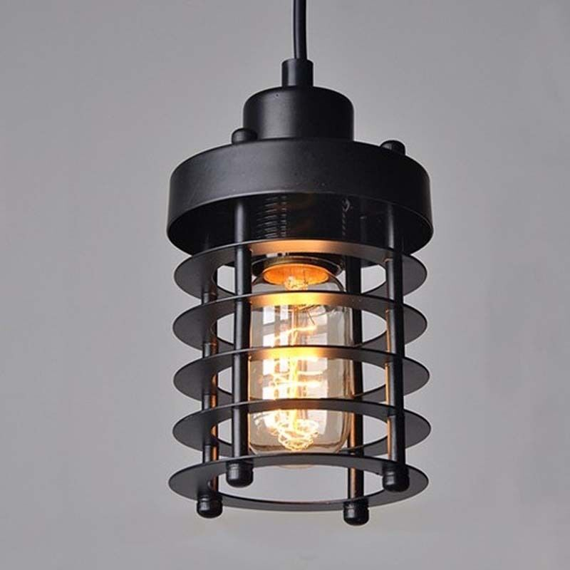 Retro Ceiling Lamp Industrial Iron Vintage Chandelier