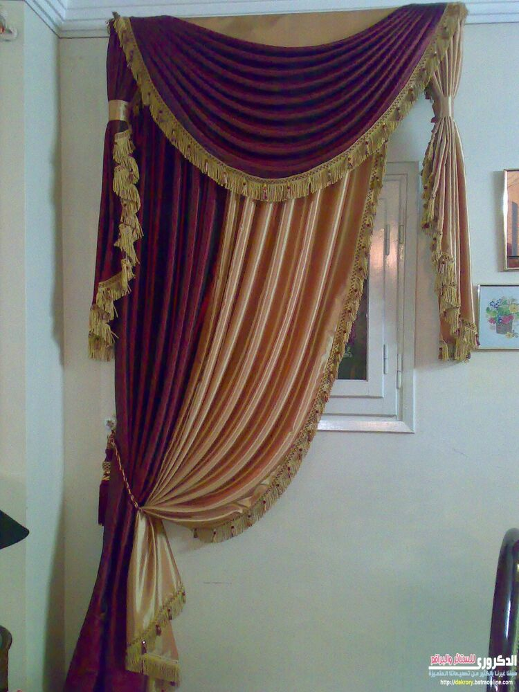 Italian Curtains Desinge Drapery Heavy Curtain Tassel
