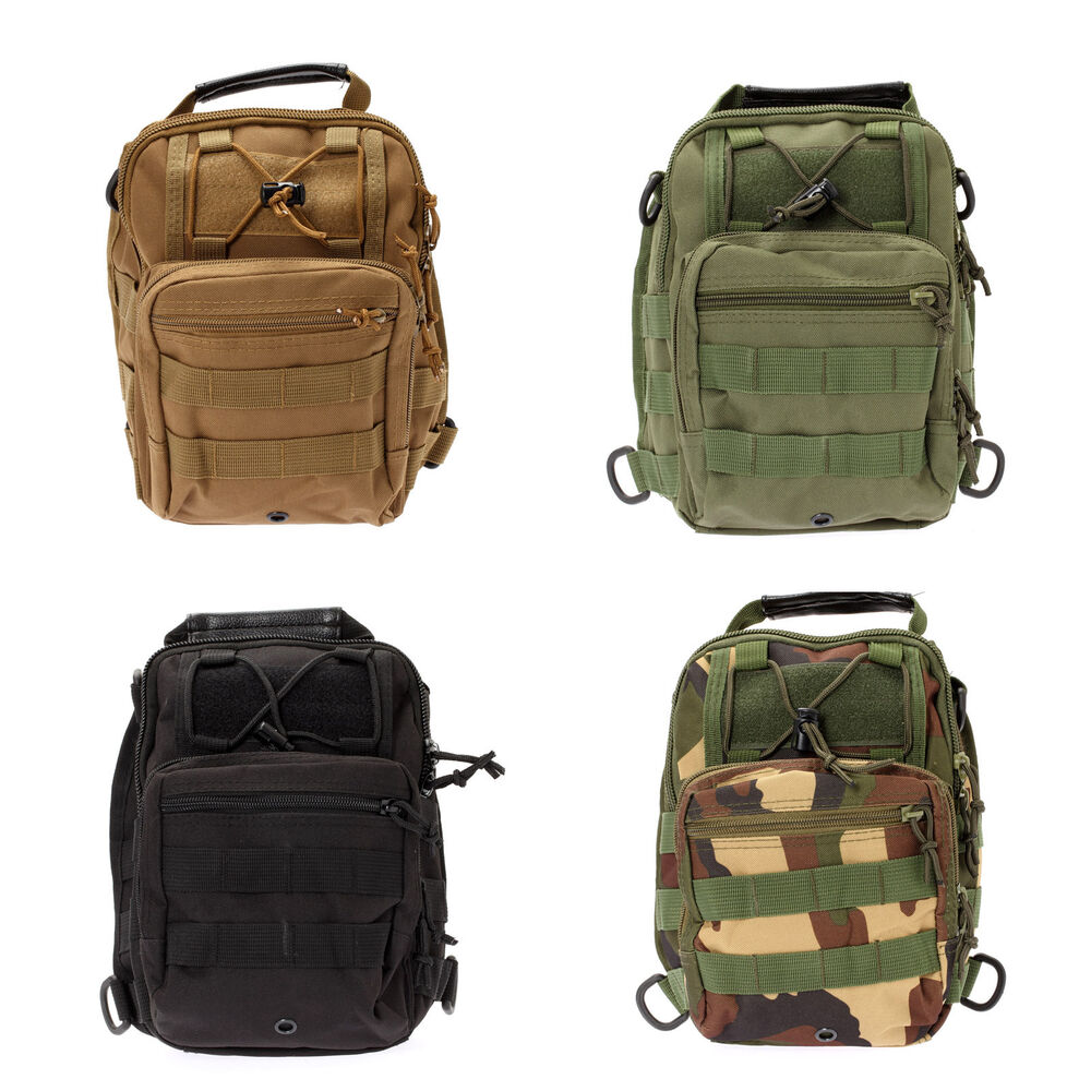 Men shoulder rucksack canvas backpack outdoor sport for Outdoor rucksack