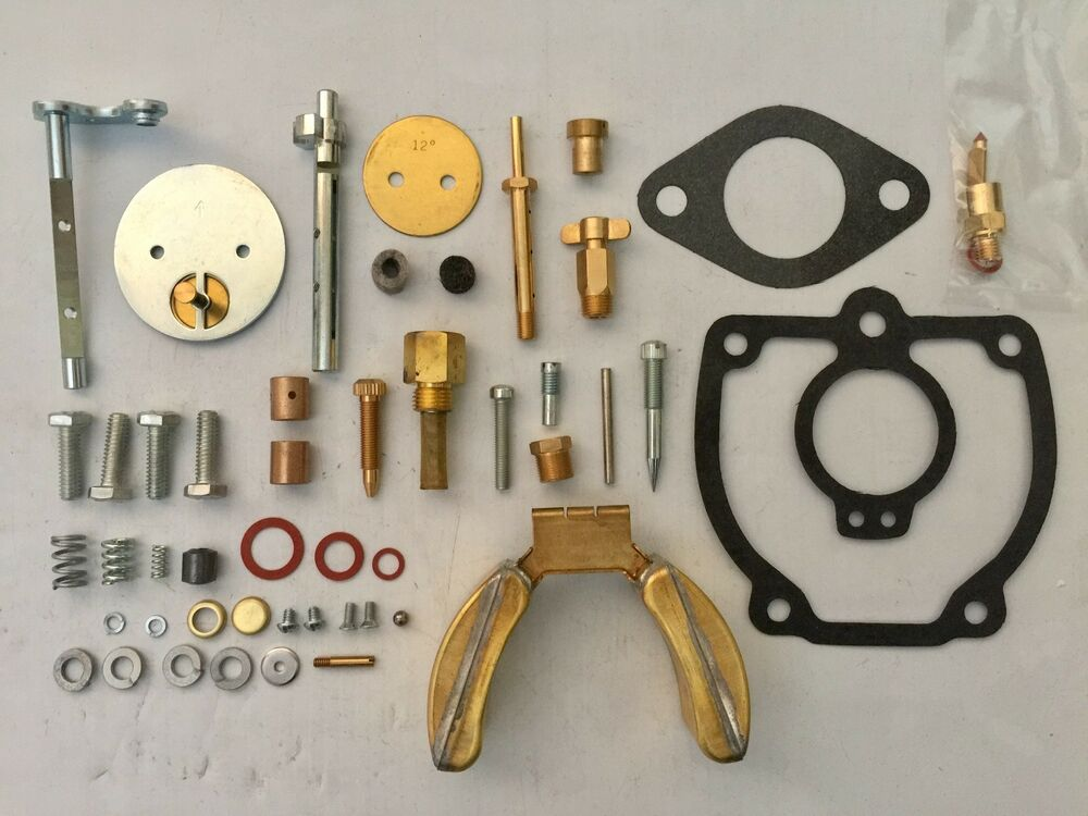 Tractor Carburetor Rebuilding : Farmall m major tractor carburetor repair kit with float