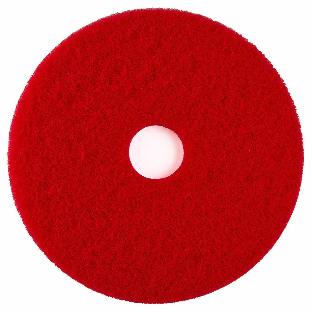 25 First Quality Select Floor Machine Pads Red 19 Quot Etc