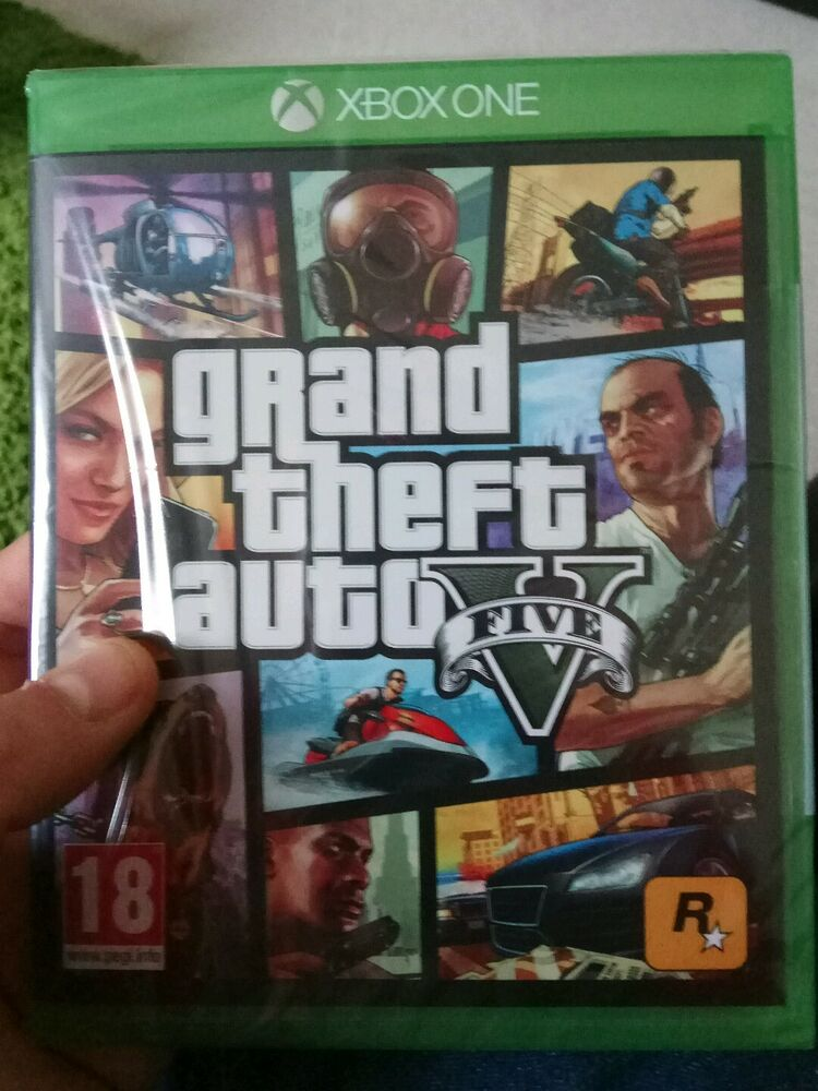 xbox one grand theft auto 5 gta v brand new sealed 5026555284073 ebay. Black Bedroom Furniture Sets. Home Design Ideas