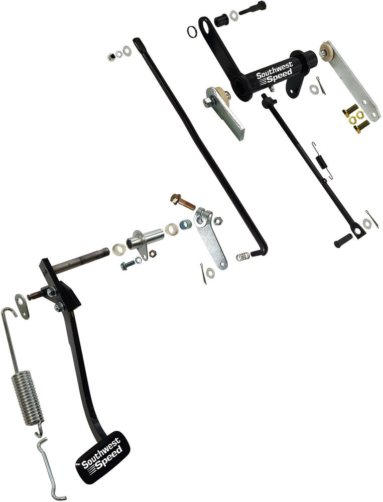 Clutch Linkage Parts : New chevy bel air clutch linkage pedal kit