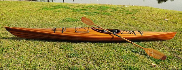Cedar strip kayak cost