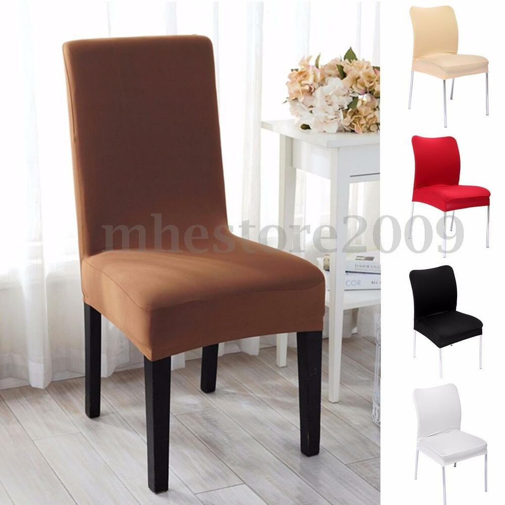 Stretch Soft Stool Seat Chair Cover Dining Room Hotel