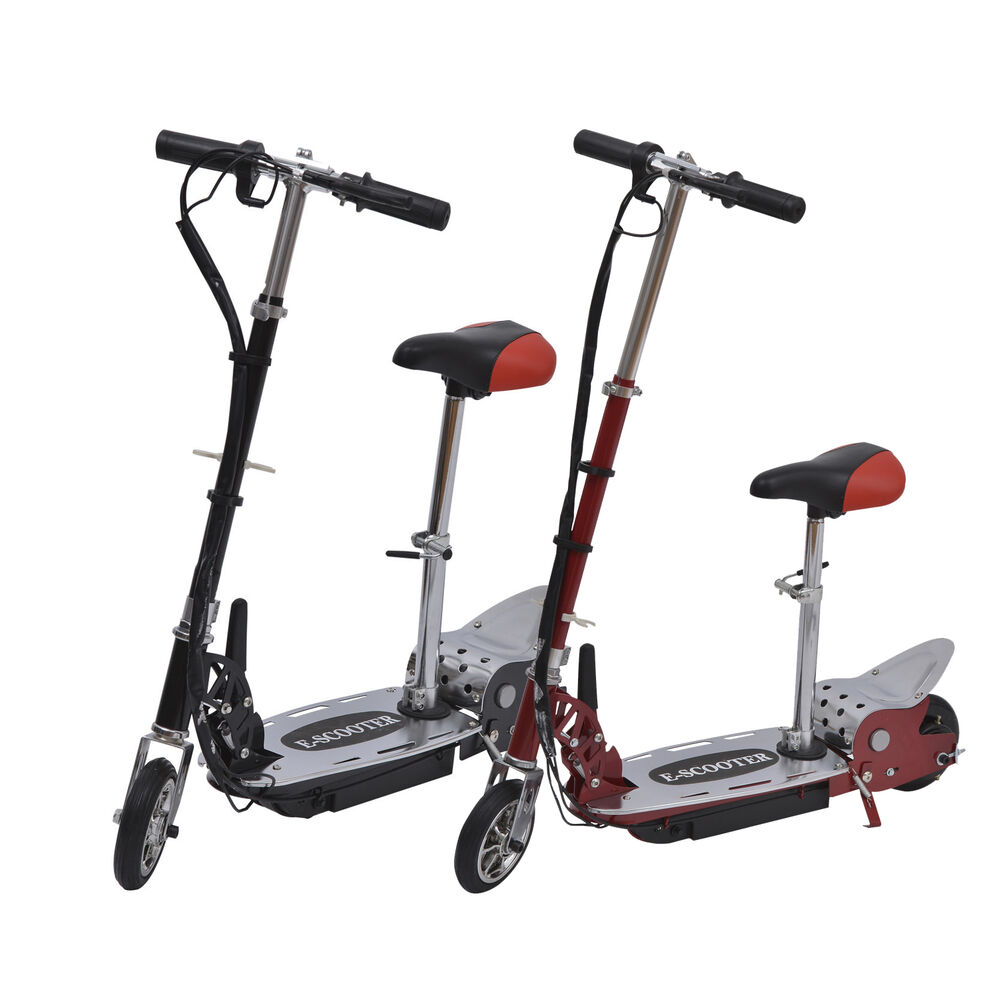 Folding motorized ride on kids electric scooter children for Fold up scooters motorized
