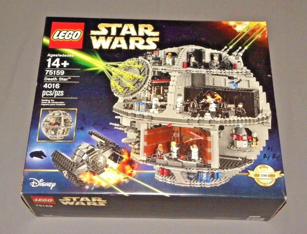 lego star wars death star set 75159 ultimate collectors. Black Bedroom Furniture Sets. Home Design Ideas