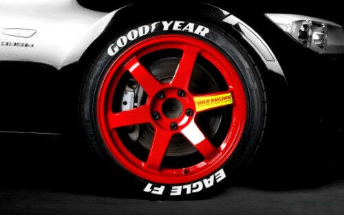Goodyear eagle f1 tire lettering permanent 1quot for 20 for Goodyear white letter tires for sale