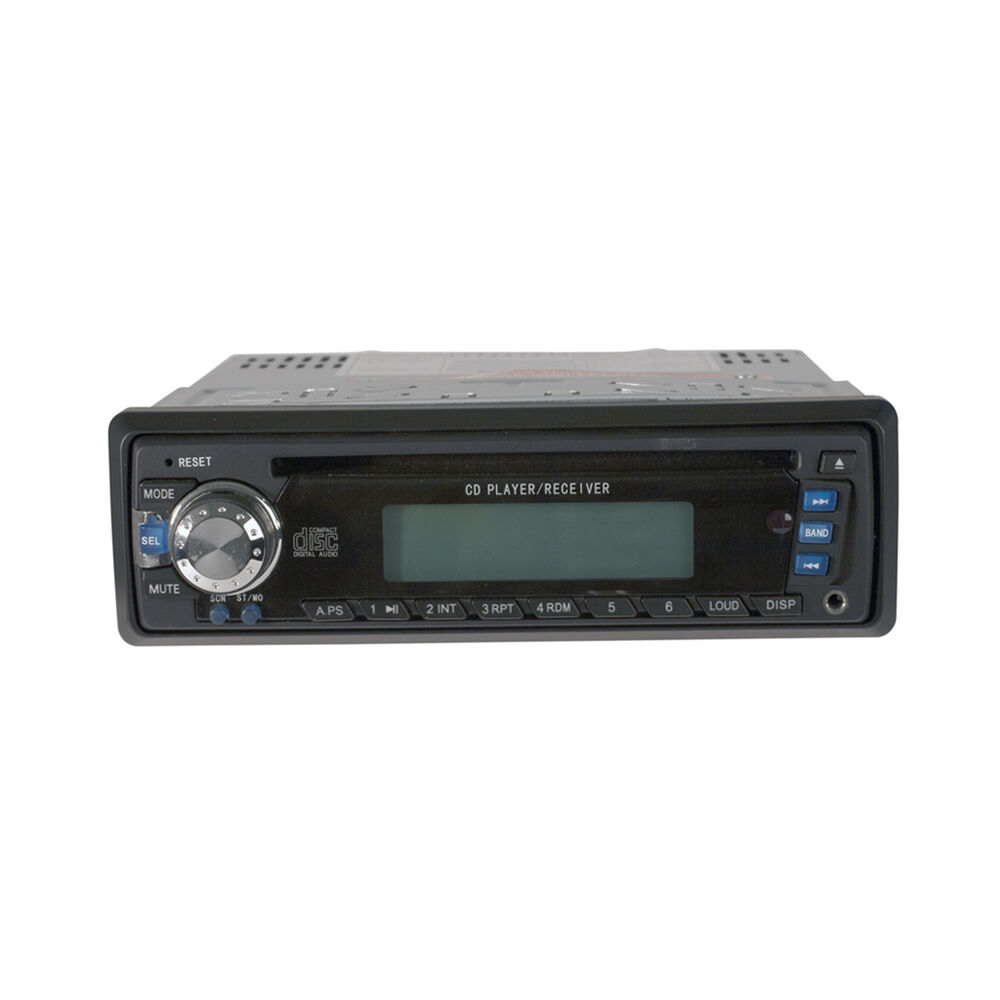 Golf Cart Universal Weather Resistant Am Fm Cd Player