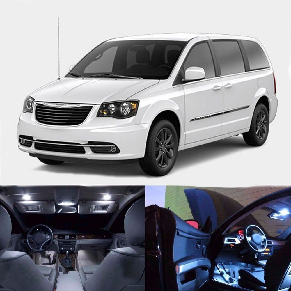 LED Lights Interior Package Kit For Town & Country 2007