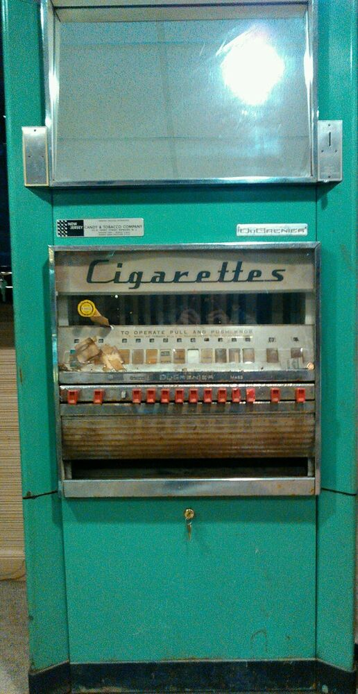 DuGrenier Cigarette Vending Machine Vintage Antique Prop ...
