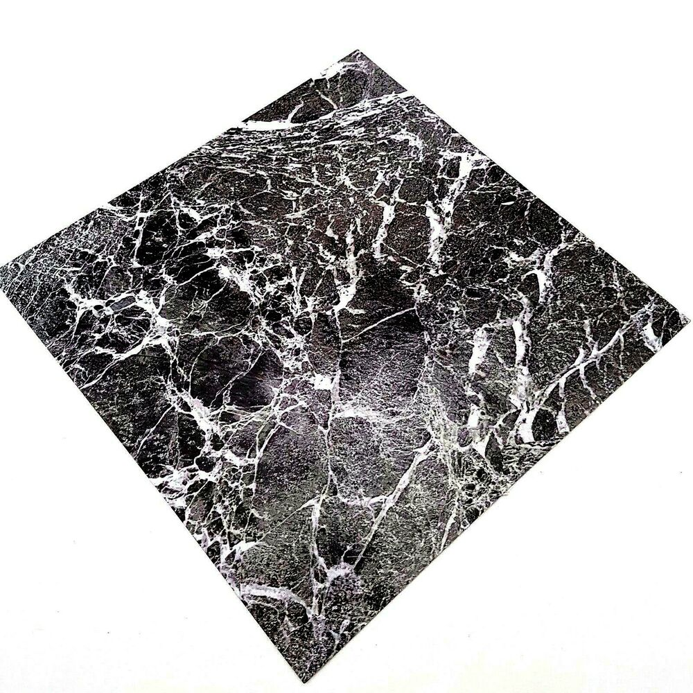 Marble Kitchen Floor Tiles: Marble Effect Tiles Self Adhesive Sticky Vinyl Tile