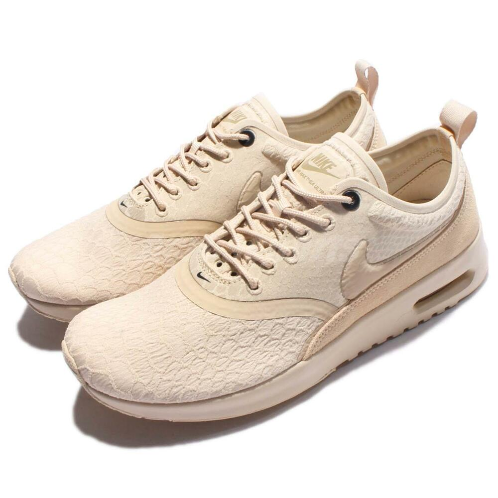 wmns nike air max thea ultra se oatmeal women running. Black Bedroom Furniture Sets. Home Design Ideas