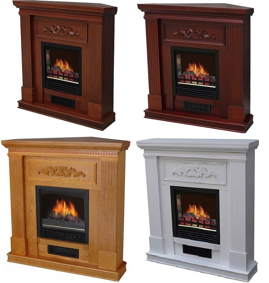 Electric Fireplace Tv Stand Heater Corner Or Straight 32