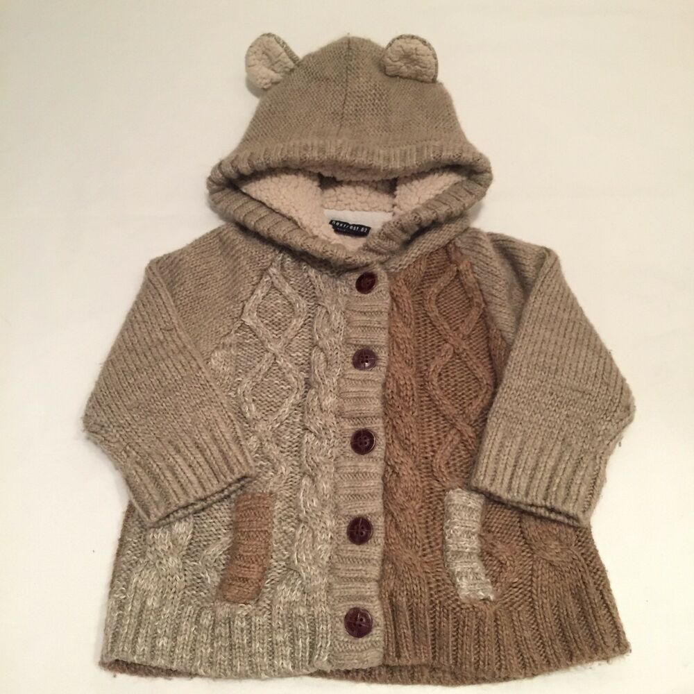 Knitting Jacket For Boy : Next brown cable knit wool blend cardigan jacket baby boys