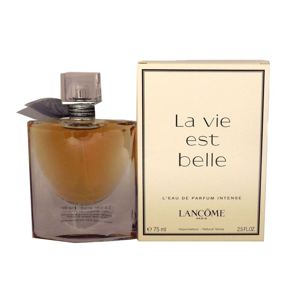 e9932de23 Details about LANCOME LA VIE EST BELLE L' EAU DE PARFUM INTENSE NATURAL  SPRAY 75ML (T)