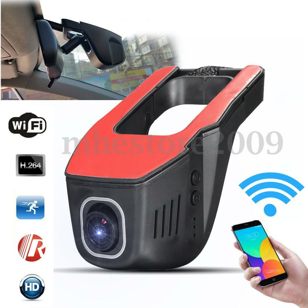 hd 1080p hidden wifi car dvr vehicle camera video recorder dash cam night vision ebay. Black Bedroom Furniture Sets. Home Design Ideas