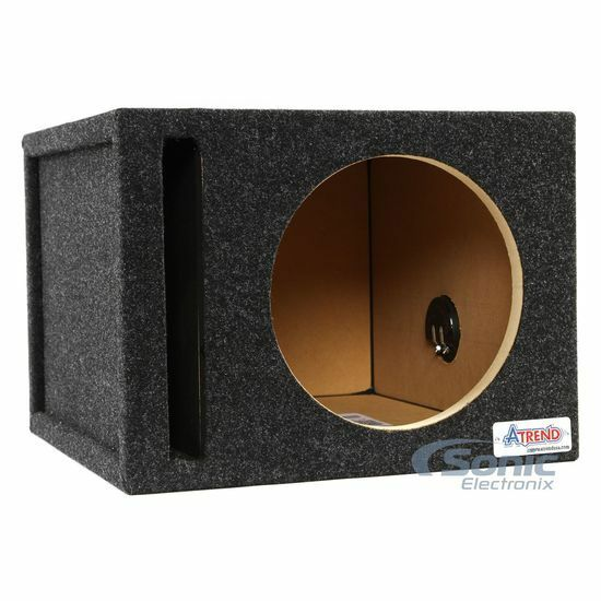 Atrend 10sqv 10 single pro series vented ported subwoofer for L ported sub box design