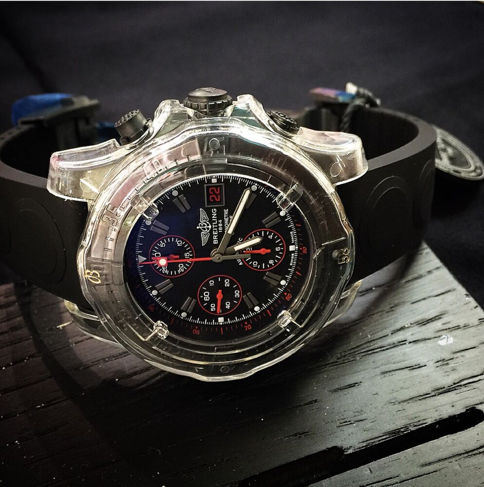 breitling avenger chronograph automatic limited edition ebay. Black Bedroom Furniture Sets. Home Design Ideas