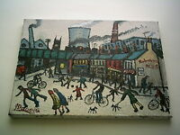 """JAMES DOWNIE SIGNED ORIGINAL OIL PAINTING - """"BREWERY STREET""""  mint with invoice"""