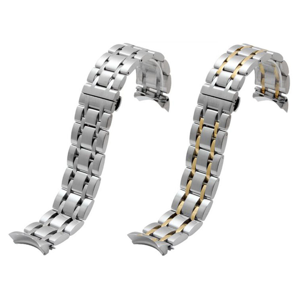 23mm Solid Stainless Steel Strap Bracelet Watch Strap Band ...