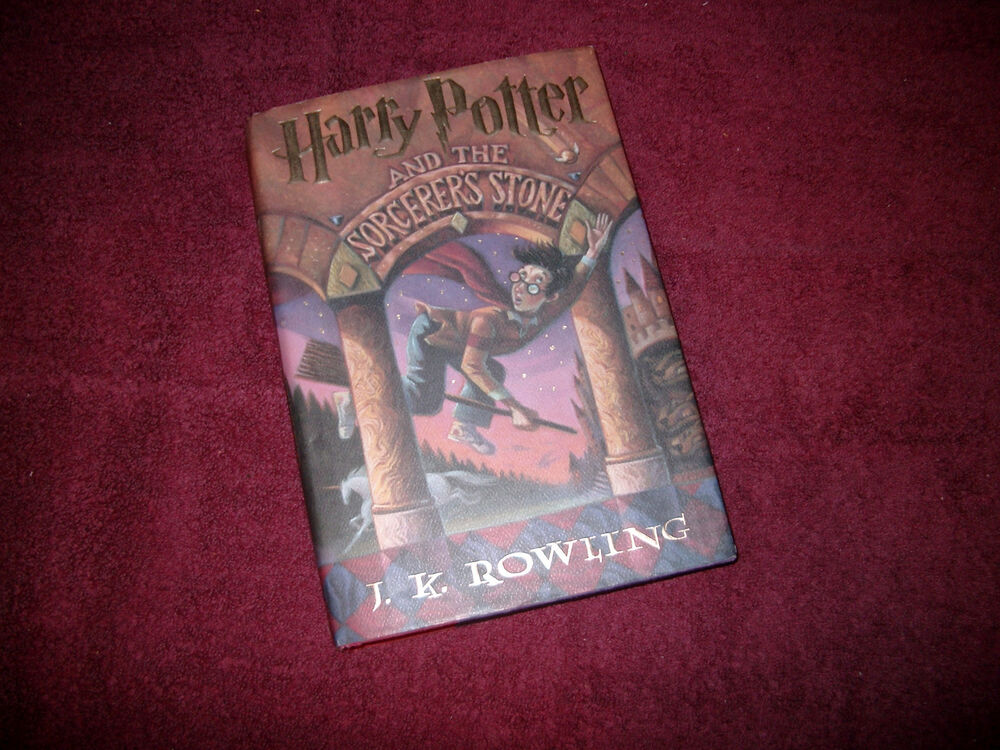 Harry Potter Book First Edition : Harry potter and the sorcerer s stone jk rowling first