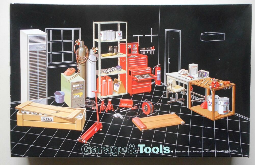 Mechanic S Garage Amp Tools 1 24 1 25 Car Model Plastic Kit