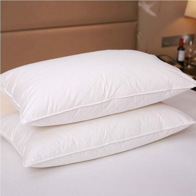 Pure Hungarian Goose Down Filled Pillow 1800tc Egyptian