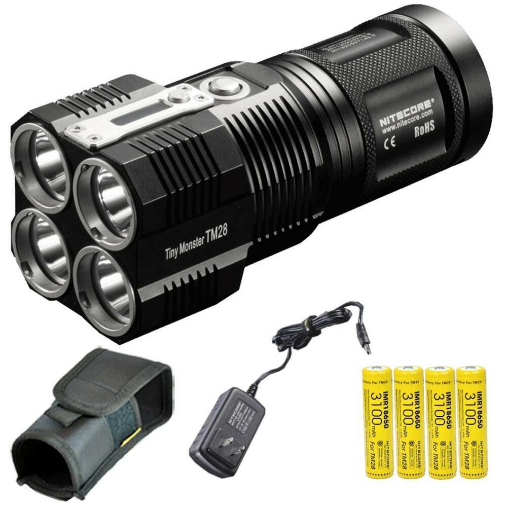 Nitecore TM28 6000 Lumen Tiny Monster Rechargeable LED ...