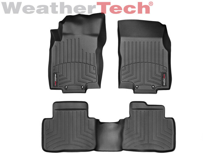 weathertech floor mats floorliner for nissan rogue 2014. Black Bedroom Furniture Sets. Home Design Ideas